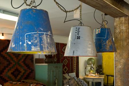 Vintage lampor Skillinge Österlen