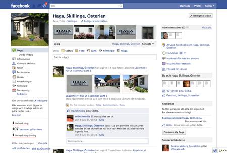 Skillinge Österlen Fanpage, Facebook