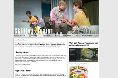 Skillinge teater bjuder på underhållning och bra teater på Österlen