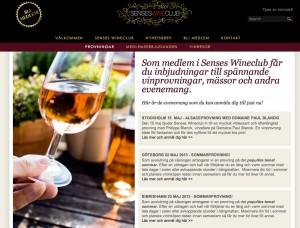 Vinprovning med Senses Wineclub
