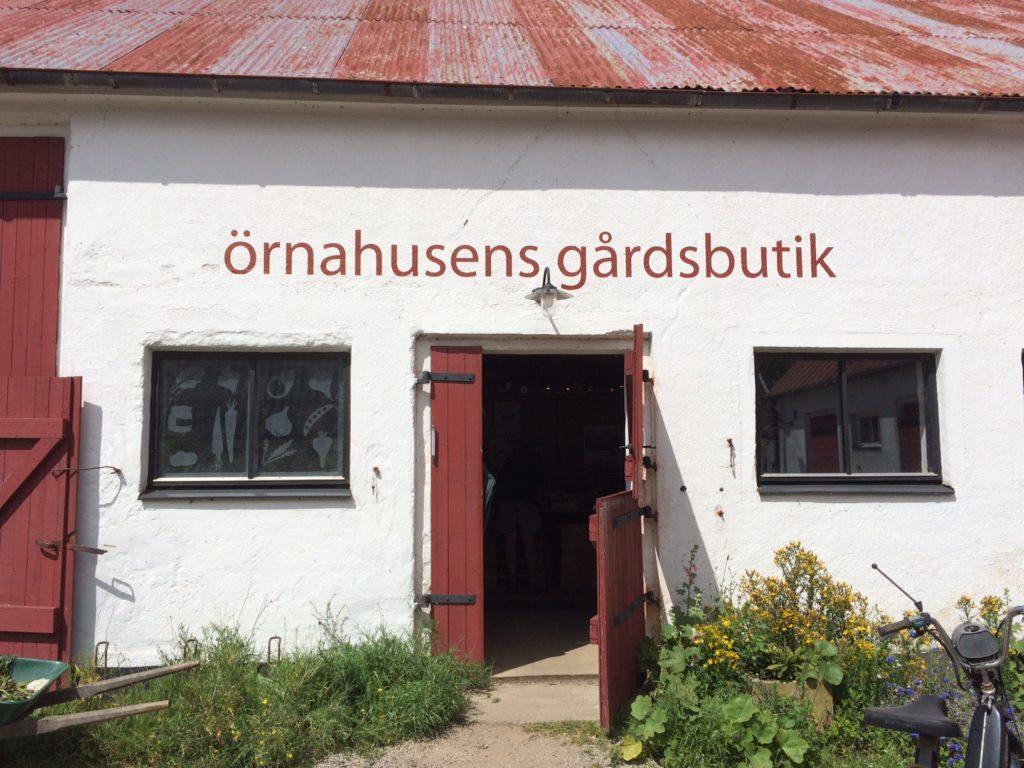 örnahusens gårdsbutik utsida